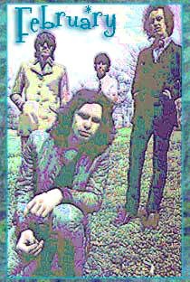 Jim Morrison and Doors in History for February