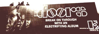 Jim Morrison and the Doors Elektra Billboard