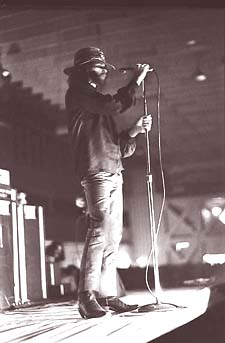 Jim Morrison on stage in Miami